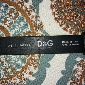 Dolce & Gabbana Accessories - Dolce & Gabbana Belt
